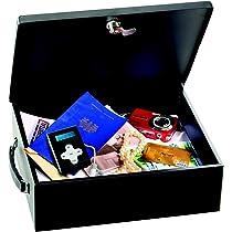 Master Lock 7149EURD Caja Fuerte [Antifuego] [con Llave] [Manejar] 7149EURD- Caja de Seguridad para Pequeña, Smarphone, A4 Documentos: Amazon.es: Bricolaje y herramientas