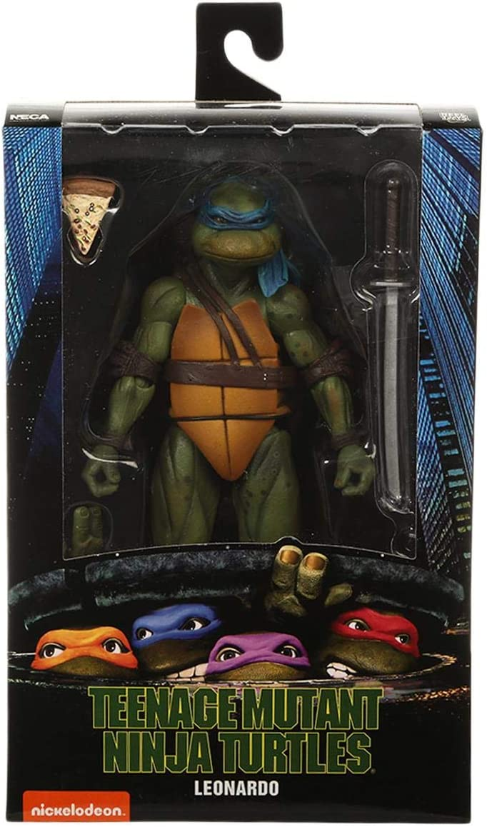 """IN STOCK NECA Teenage Mutant Ninja Turtles Raphael Movie 7/"""" Figure Official"""