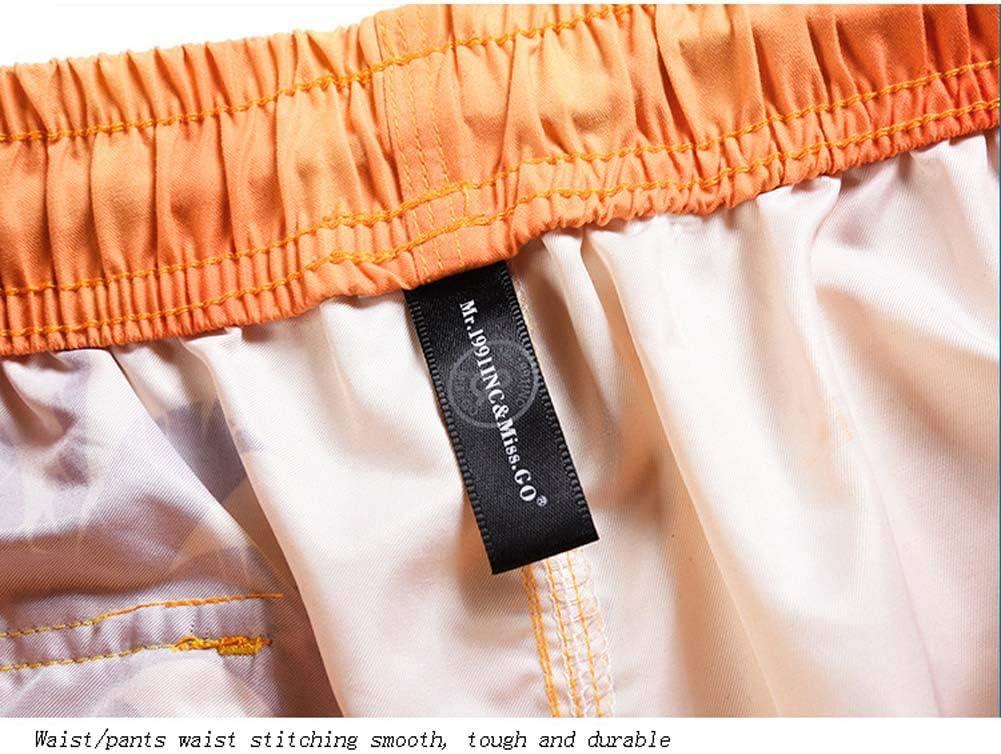 Aijolen Pantalones Cortos De Playa para Hombre Trajes De Baño ...