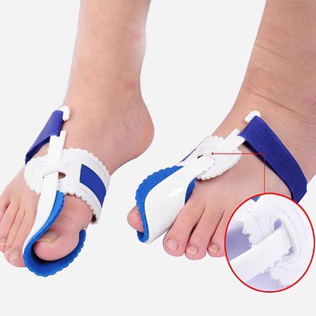 Providethebest 1 par juanete ortopédicos Los apoyos del Dedo del pie Corrección Noche Corrector Cuidado de los pies de Apoyo del Pulgar Hueso Grande ...