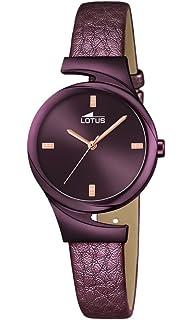 Lotus Reloj Mujer de Analogico con Correa en Cuero 18346/1