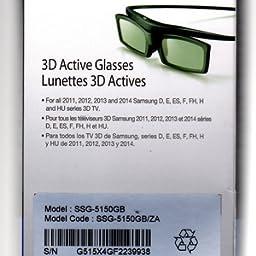 Amazon Com Samsung Ssg 5150gb 3d Active Glasses Home Audio Theater