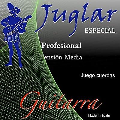 Juego de Cuerdas para Guitarra Clásica Española Juglar JS-10 ...