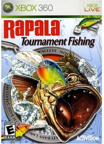 Amazon Com Rapala Tournament Fishing Xbox 360 Artist Not