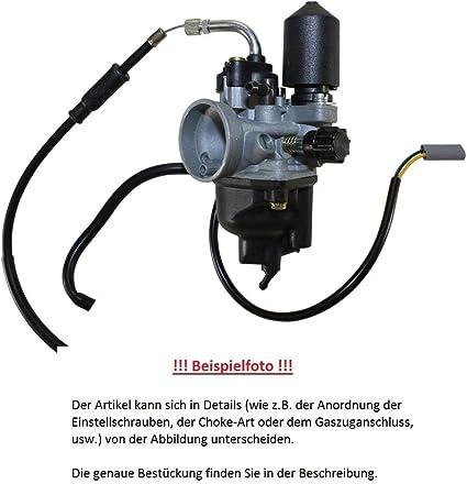 Dell Orto Vergaser 06339 Phva Var P Mit 12 Mm Durchlass Getrenntschmierung Auto