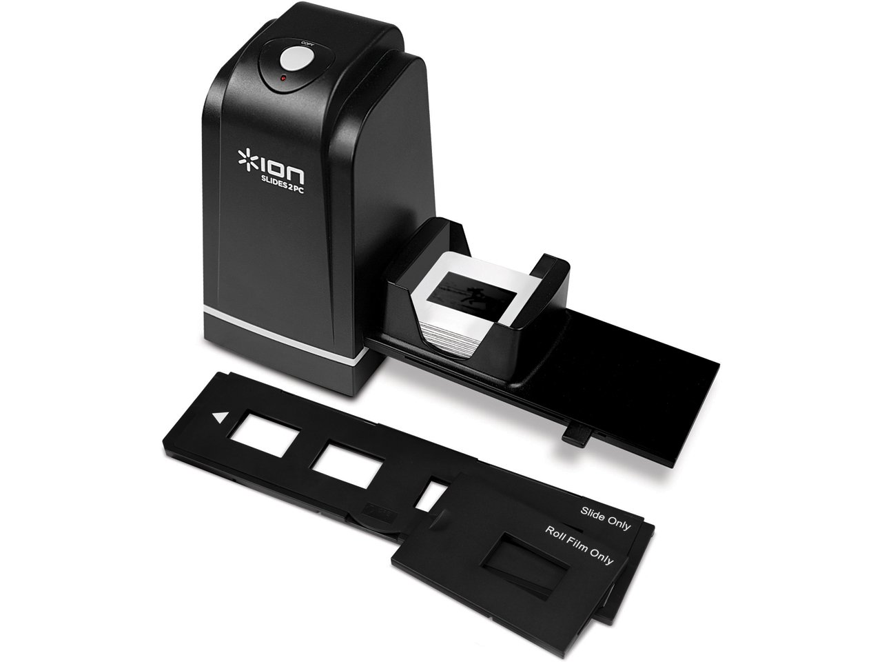 Ion Audio SLIDES2PC Scanner dispositive con USB 2.0, colore: Nero