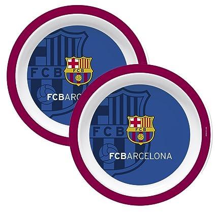 F.C. Barcelona Plato melamina 22 cm