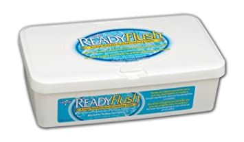 Readyflush Scented Wipes 9inchx13inch 60/tub - Case Of 9 Tubs