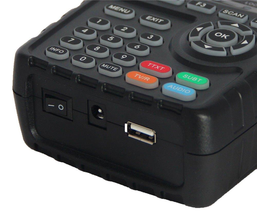 SATLINK WS-6916 DVB-S//S2 HD Satellite Finder Meter with MPEG-2//MPEG-4 QPSK,8PSK