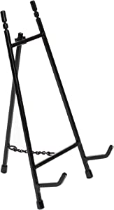 """Red Co. Modern Metal Tripod Plate Stand and Art Holder Easel in Black - 11"""""""