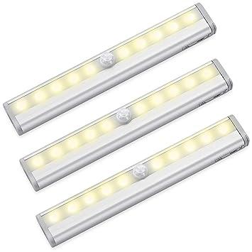 Luz LED de gabinete AMIR, luz nocturna con sensor de movimiento, luz nocturna de