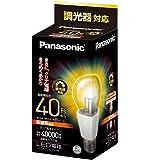 パナソニック LED電球 口金直径26mm  電球40W形相当 電球色相当(7.0W) 一般電球・クリア電球タイプ 調光器対応 密閉形器具対応 LDA7LCDW