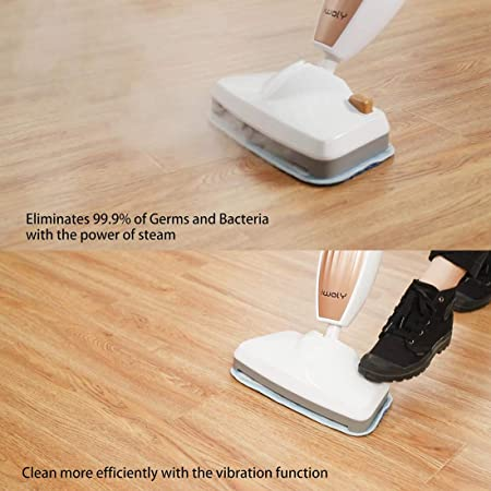 iwoly M11 Steam Mop Cleaner with Handle Switch