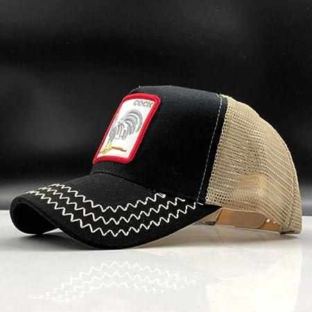kyprx Sombreros de Sol para Mujer Gorra de béisbol de Malla de Sol ...