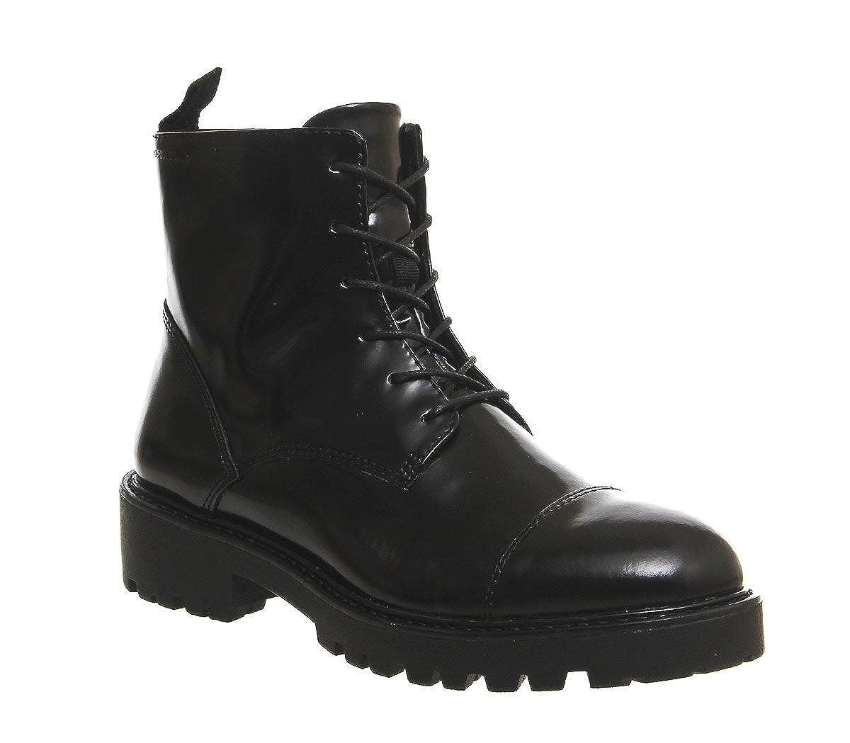 e9c549440ad Vagabond Kenova Boots Black Box Leather - 8 UK: Amazon.co.uk: Shoes ...