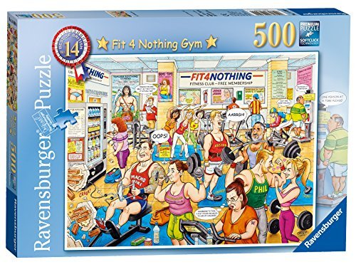 - Ravensburger Best of British No.14 - Fit 4 Nothing 500pc Jigsaw Puzzle by Ravensburger