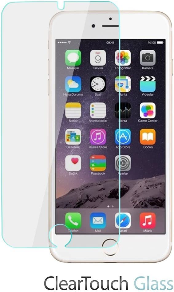 Apple iPhone 7 Screen Protector, BoxWave [ClearTouch Glass] 9H Tempered Glass Screen Protection for Apple iPhone 7
