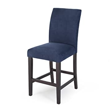 Swell Amazon Com Home Direct Navy Blue Contemporary Classic Set Unemploymentrelief Wooden Chair Designs For Living Room Unemploymentrelieforg
