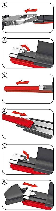 Goma de recambio limpiaparabrisas Aerotwin 2pcs 800 mm adecuado para todos los Aerotwin: Amazon.es: Coche y moto