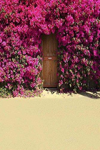 GladsBuy Flowery Wall 6