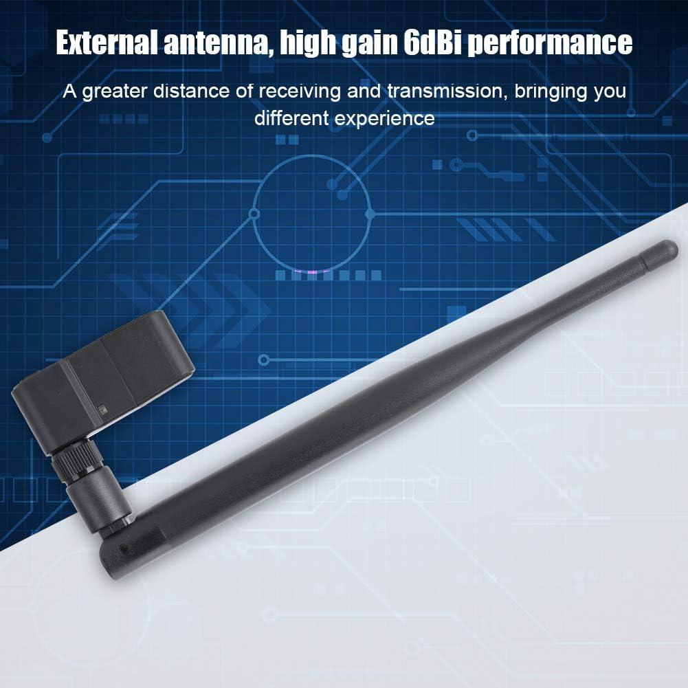 150M USB WiFi 802.11g//b//n Wireless Network LAN Card for Desktop Laptop with High Gain 6dBi Antenna Tangxi USB WiFi Network Card