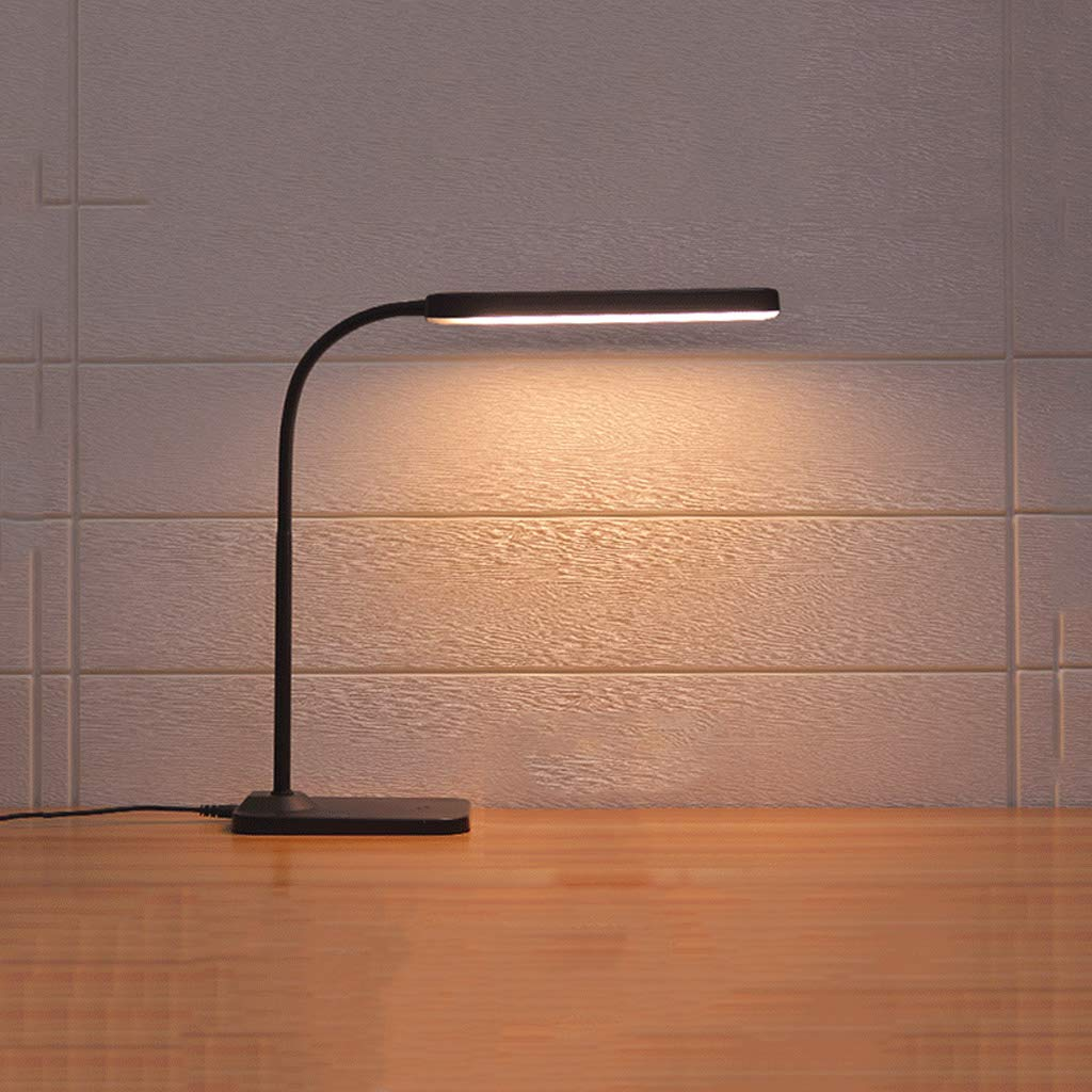 ZR Mini LED-Tischlampe - Augenschutz Schreibtischlampe Schreibtisch Wohnheim College-Student lernt Klappschreibtischlampe Dimmen Schlafzimmerleseschreibtischlampe Lade tischlampe