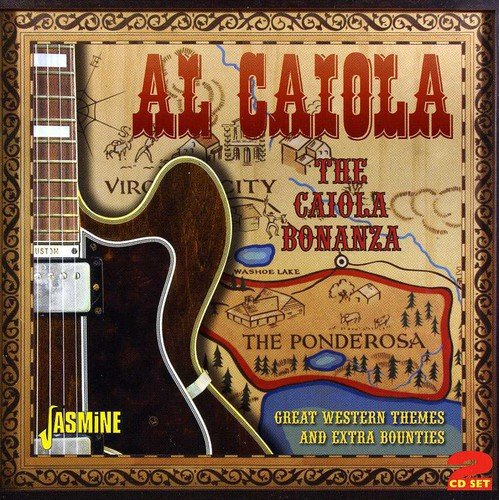 Price comparison product image The Caiola Bonanza - Great Western Themes And Extra Bounties [ORIGINAL RECORDINGS REMASTERED] 2CD SET