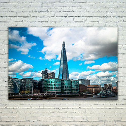 Westlake Art Sky Urban - 12x18 Poster Print Wall Art - Modern Picture Photography Home Decor Office Birthday Gift - Unframed 12x18 Inch (3206-6BA18) - Corporate Obelisk