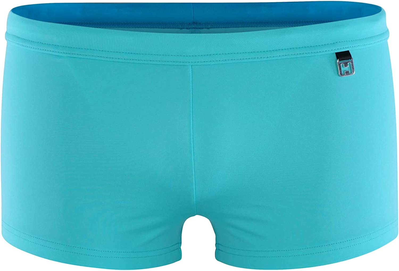 HOM Herren Hochwertige /& sportliche Badehose im Retrostyle in Vier attraktiven Saisonfarben Swim Shorts Sea Life