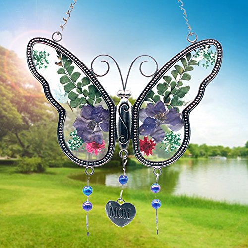 Mom Suncatcher (ZBLX Suncatcher Gifts for Mom - Gifts for Mothers -butterfly suncatcher.)