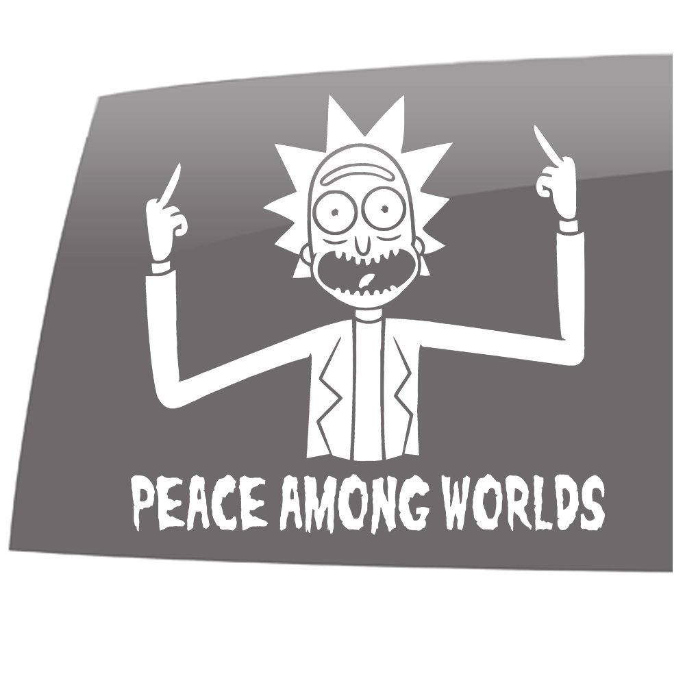Vinilo de Exterior Paz Entre Mundos