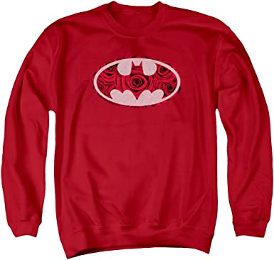 Arcane Bat Logo Adult Crewneck Sweatshirt Batman