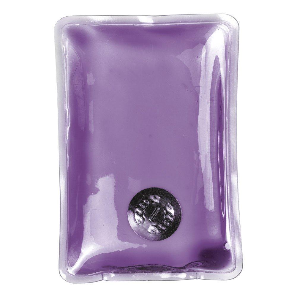 eBuyGB Reusable Gel Hand Warmer / Heat Pack - Instant Heating (Purple Rectangle)