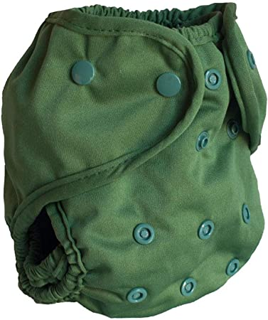 Buttons Cloth Diaper Cover - One Size (Spruce)