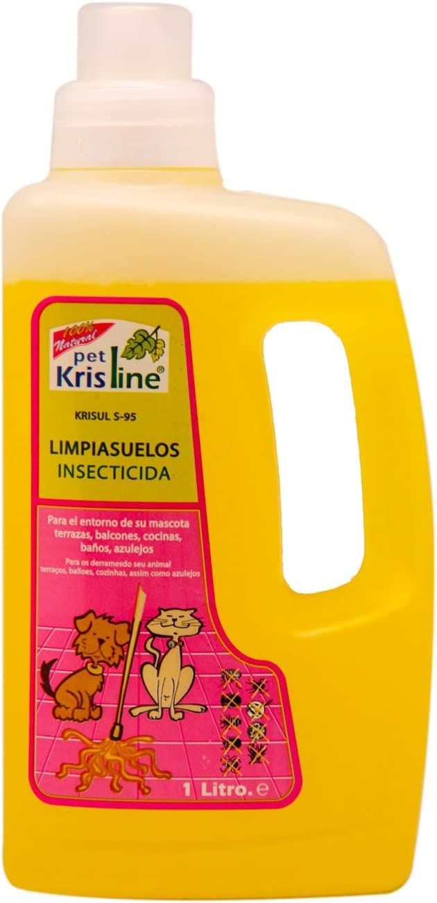 BPS (R) Limpiasuelos Insecticida, Cleaning Floors Insecticide para Perro, Cachorro, Animales Domésticos.02220