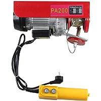 OUBAYLEW Polipasto eléctrico 220v cabestrante de cable eléctrico