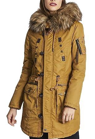 starke verpackung sehr bequem Gutscheincodes khujo Halle Damen Parka Winterjacke Jacke Jacket Honey Gr ...