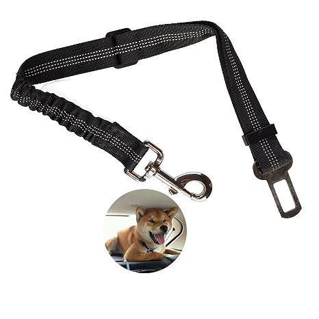 Cinturón de Seguridad para Perros, Extensible y Ajustable 39-69 cm ...