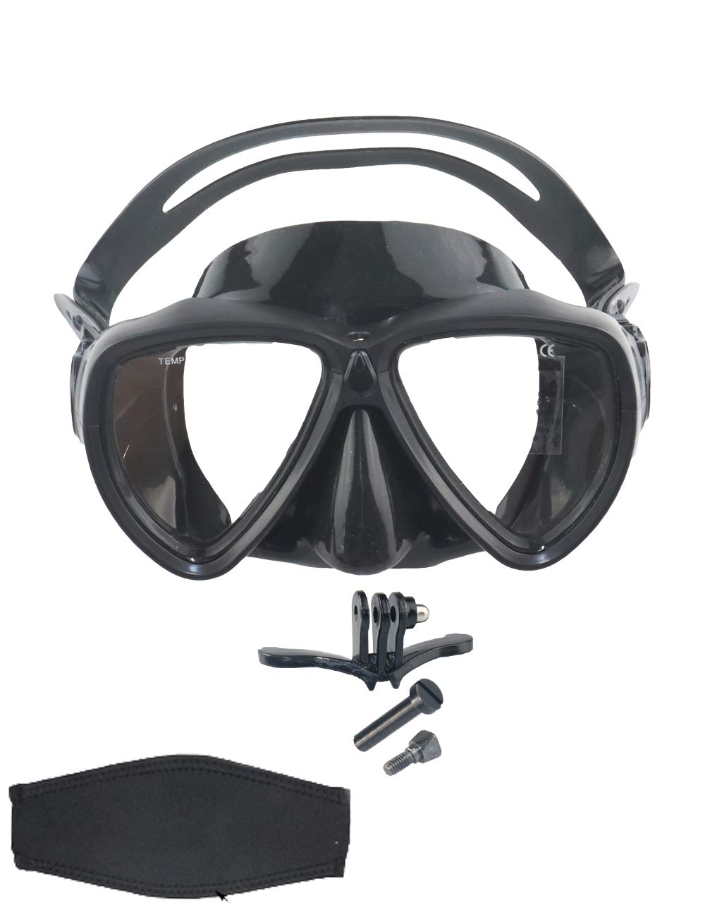 31a9be69d4d Snorkel Mask Scuba Dive Mask Glasses Snorkeling Gear Silicone Diving Goggles  Kit Impact Resistance Anti-leak Anti-fog Wide View Fit Adult Kid Neoprene  Mask ...