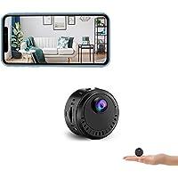 Spy Camera Wireless Hidden Camera Mini WiFi Security Cam HD 4K Motion Sensor Night Vision Live Feed Remote View Small…