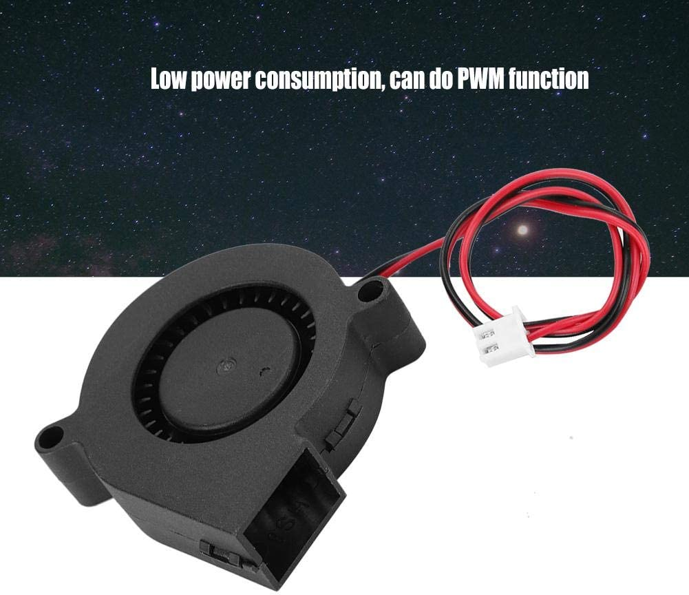 5V Fast Heat Dissipation Effect Low Power Consumption Plug and Play 3D Printer HeatSink Cooling Fan Redxiao 3D Printer Turbo Fan