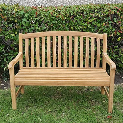 Cambridge Casual Solid Teak Wood Arie 4' Garden Bench