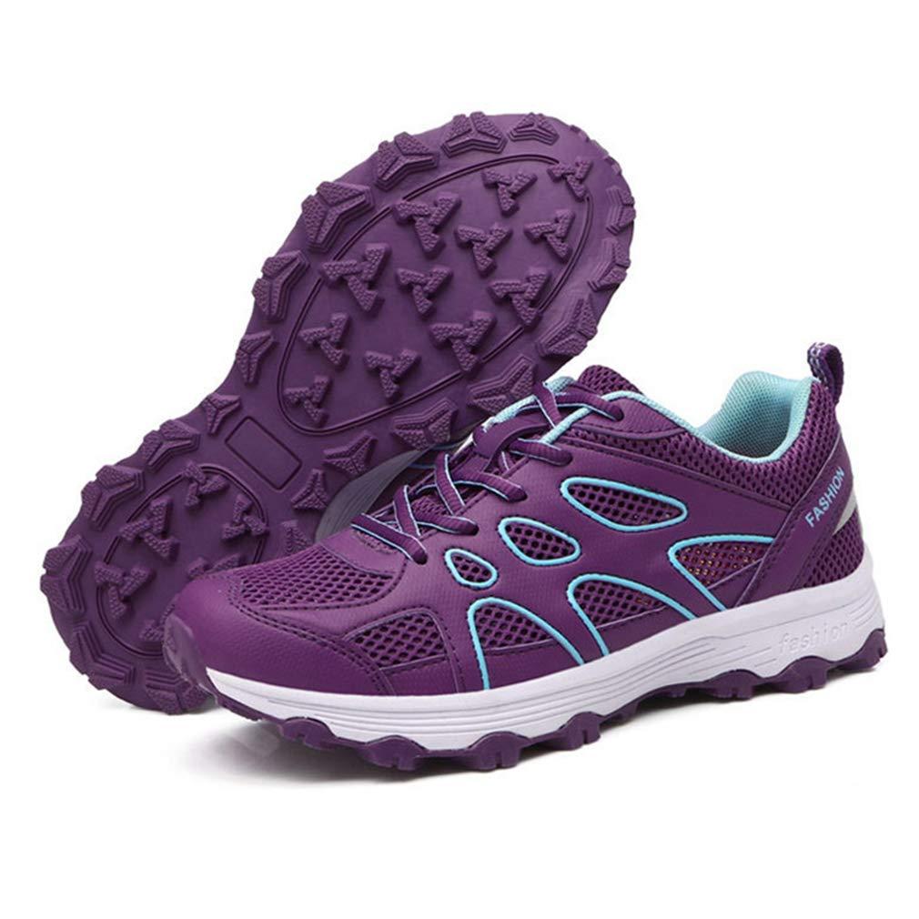 GIY Women's Lightweight Shoes Mesh Hiking Shoes Lightweight Outdoor Running Trail Hiker Non-Slip Athletic Climbing Sneakers B07GKTF6NC Trekking & Hiking 66c9f1