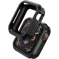 UGREEN 2 Pack Apple Watch Case Protective Apple Watch Series 4 44mm Case TPU Ultra Thin iWatch 4 Full Cover Screen…