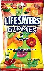 Life Savers, Gummies 5 Flavors Candy Bag, 7 oz