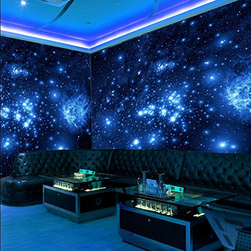 ZLJTYN 240cmX160cm luxury self adhesive wallpaper modern design milky way ceiling wallpaper sofa TV background wall hotel shop wallpaper by ZLJTYN (Image #1)