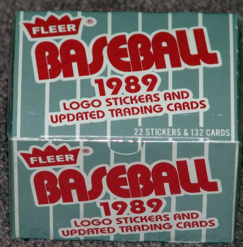 1989 Fleer Update MLB Baseball Factory Sealed 132 Card Set Lots of Rookie (Fleer Factory Sealed Baseball)