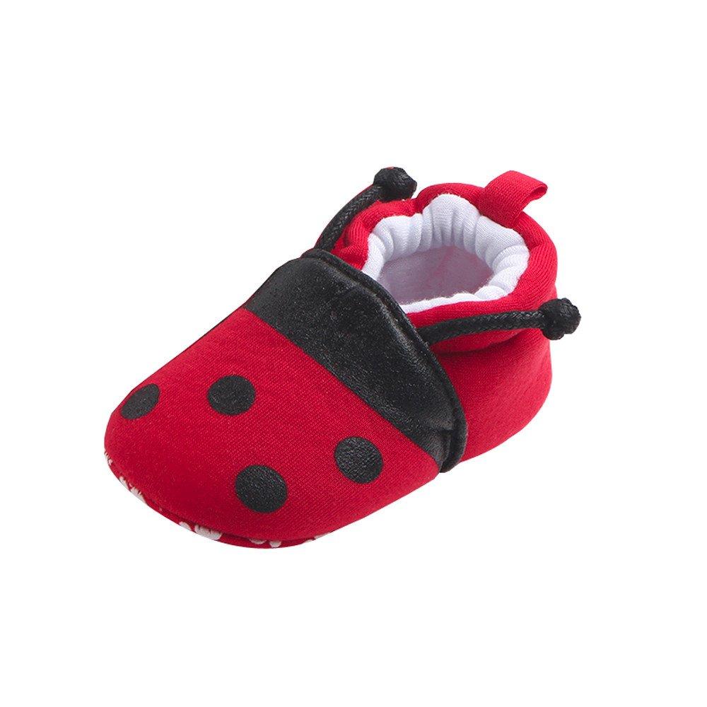 Sunenjoy Première Marcheurs Bébé Chaussures Belle Enfant Ronde Orteil Appartements Doux Tentacules Pantoufles Chaussures