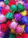 Sparkle Ball Cat Toy – 10 Pack – 1″, My Pet Supplies