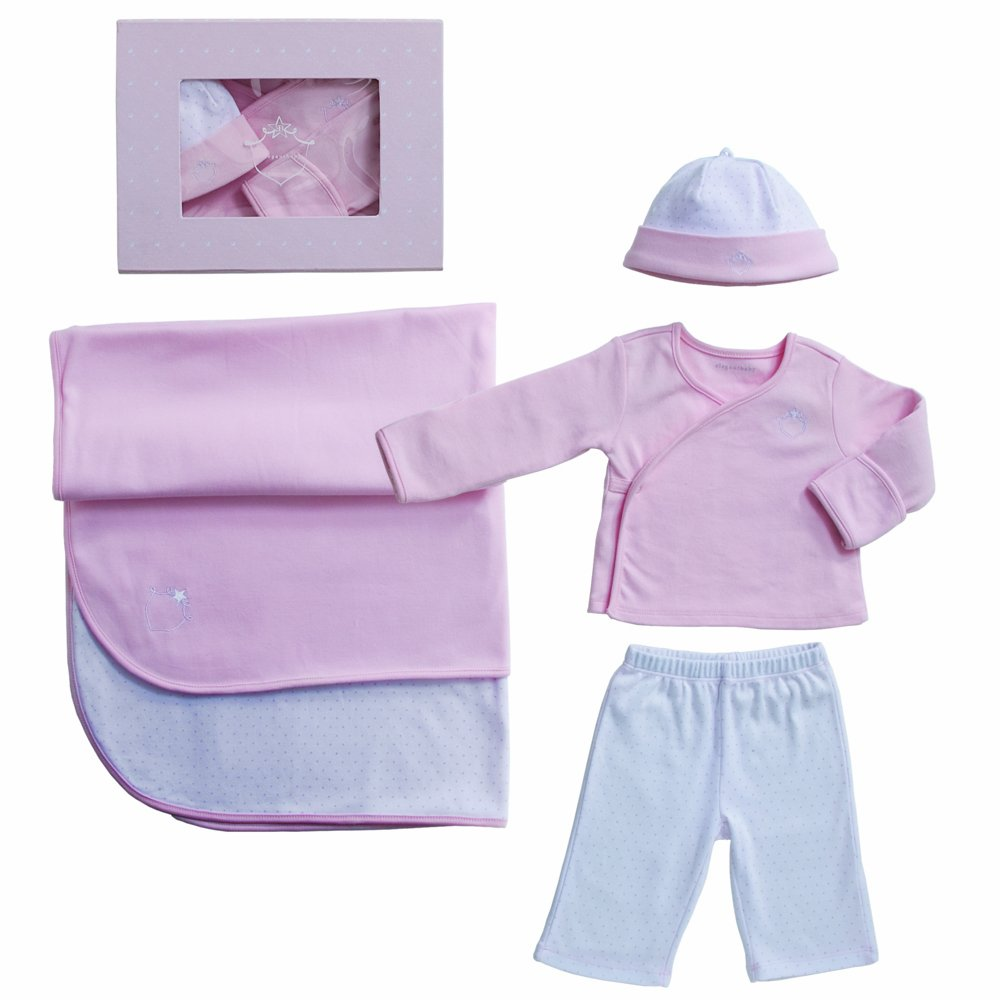 Pink Elegant Baby Signature Collection Take Me Home Gift Set Newborn Discontinued by Manufacturer
